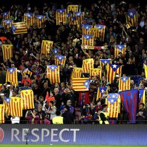 Estelades Camp Nou Champions League Efe
