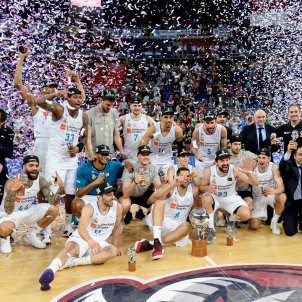Reial Madrid bàsquet ACB Lliga Endesa Efe
