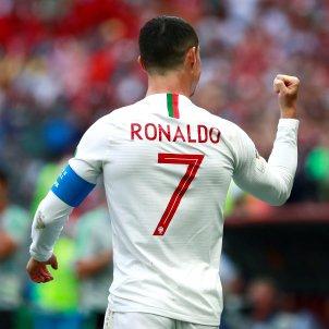 Cristiano Ronaldo celebracio gol Portugal Marroc Mundial   EFE