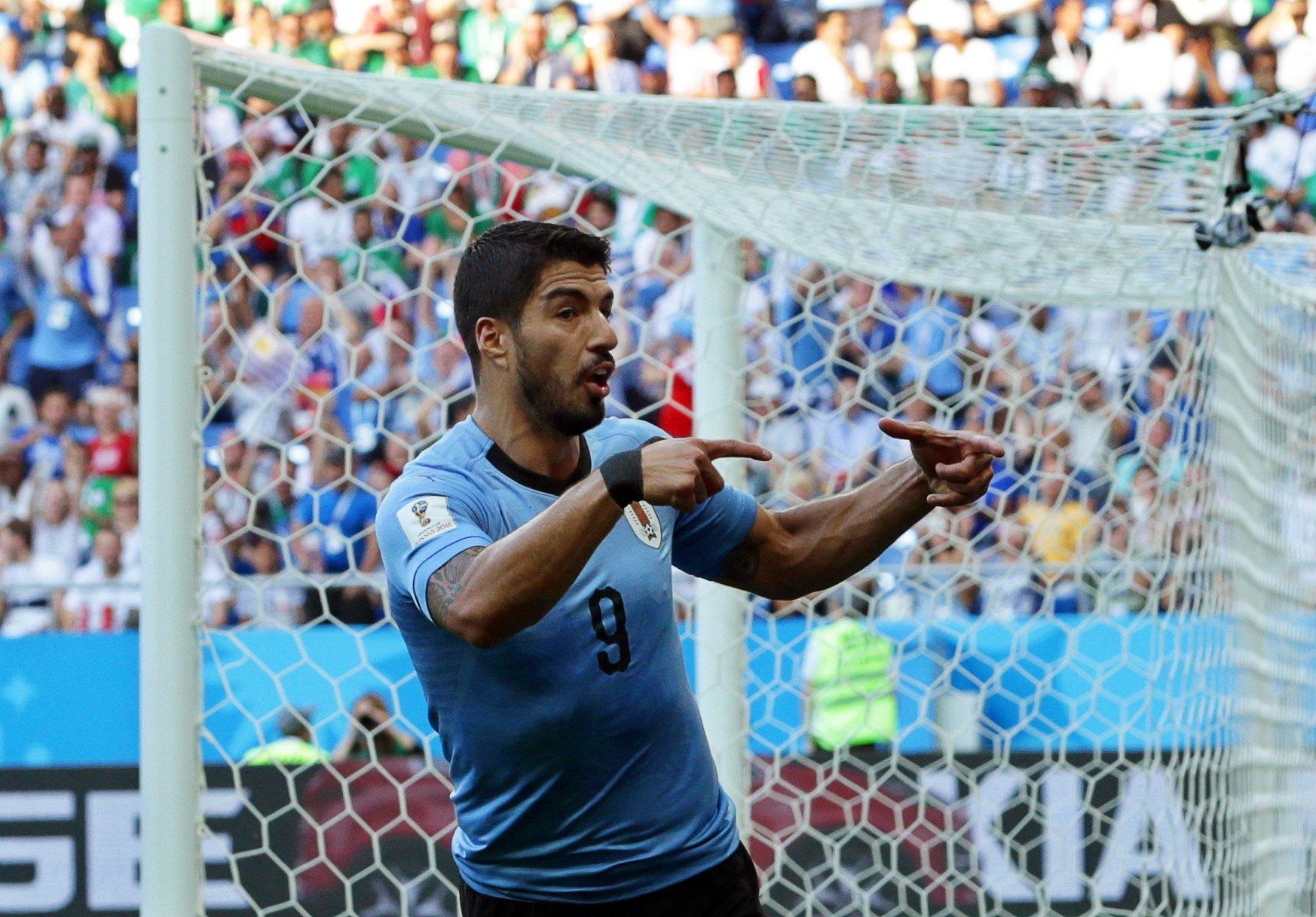 Luis Suarez gol Uruguai Mundial   EFE