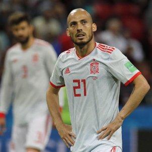 David Silva espanya futbol Mundial Iran Russia   EFE