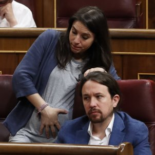 Pablo Iglesias i Irene Montero embaras  GTRES