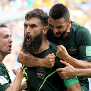 Australia gol Dinamarca Mundial Futbol Russia   EFE
