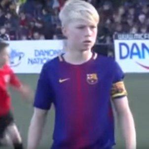 Daniel Gudjohnsen Barça   Captura