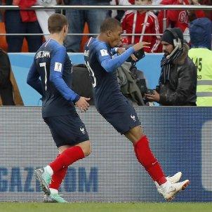 Mbappe Griezmann Mundial França Russia   EFE