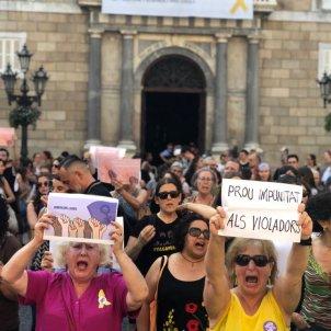 manifestació la manada Nicolas Tomas