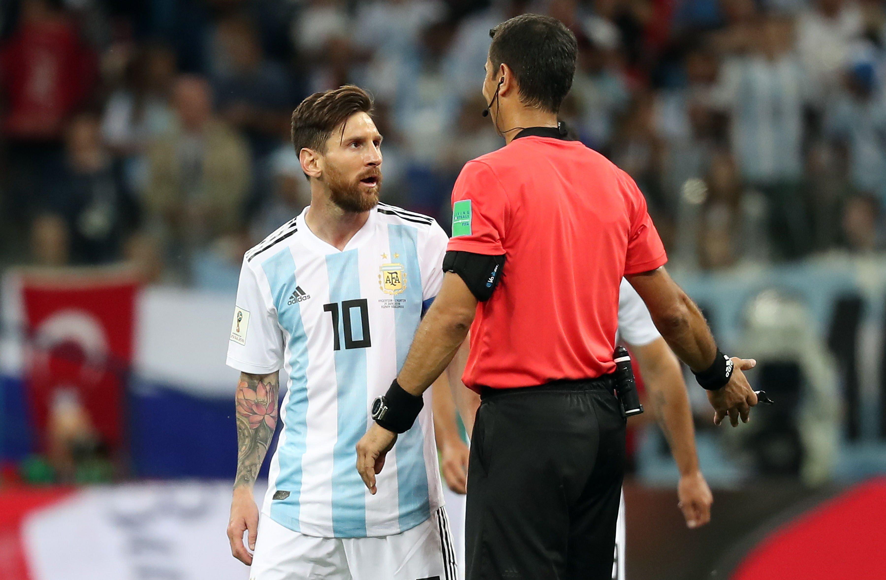Leo Messi Croacia Mundial Russia   EFE