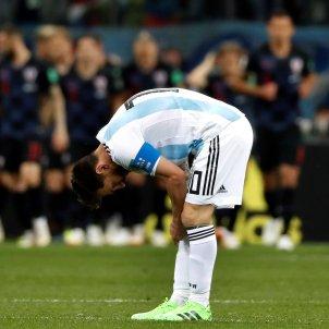 Leo Messi Argentina Mundial Russia   EFE