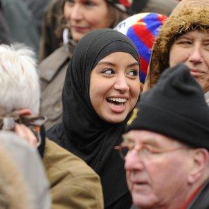 Musulmana a Europa (Kashfi Halford)