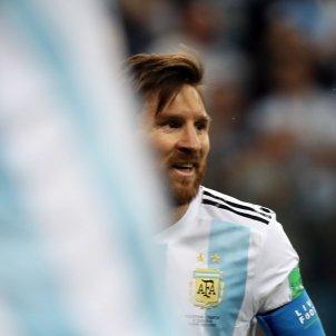 Leo Messi Argentina Croacia Mundial Russia 1   EFE