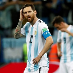 Leo Messi Argentina Croacia Mundial Rússia 4   EFE