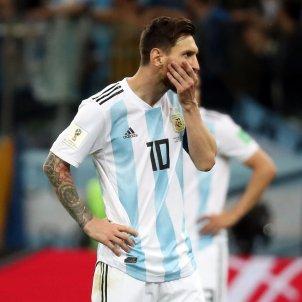 Leo Messi Croacia Argentina Mundial Rússia 3   EFE
