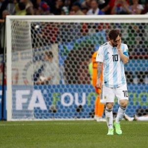 Leo Messi Argentina Croacia Mundial Russia 2   EFE