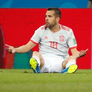 Jordi Alba Espanya Mundial Rússia Futbol   EFE