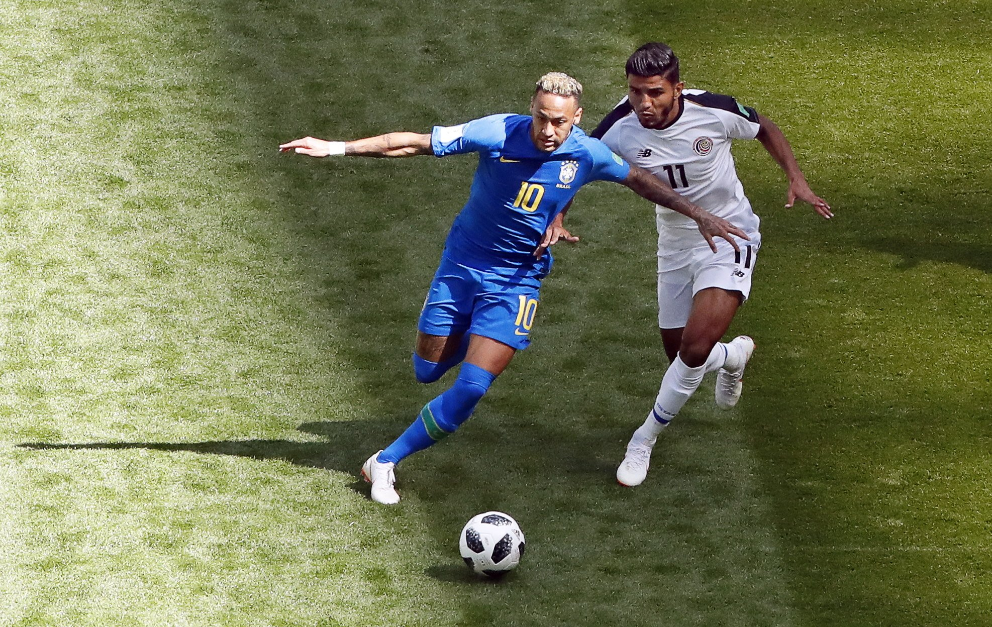 Neymar Brasil Costa Rica Mundial Rússia  EFE