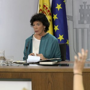 Celaa Consejo Ministros EFE
