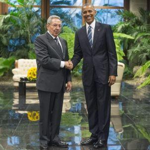 Castro i Obama / EFE