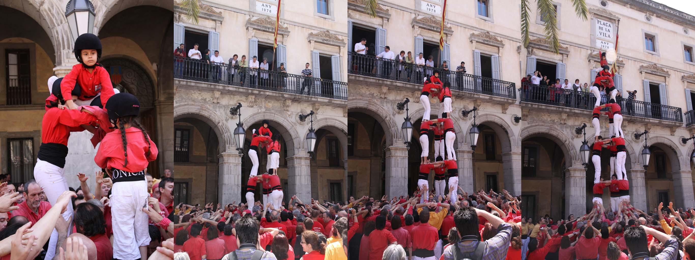 castells castellers de Barcelona