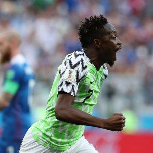 Musa Nigeria Islandia Mundial Russia 2018 EFE