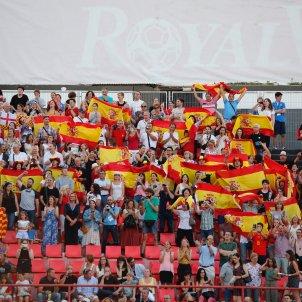 Banderes espanyoles Jocs del Mediterrani Sergi Alcazar