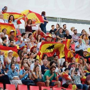 banderes espanyoles jocs mediterrani. Sergi Alcázar