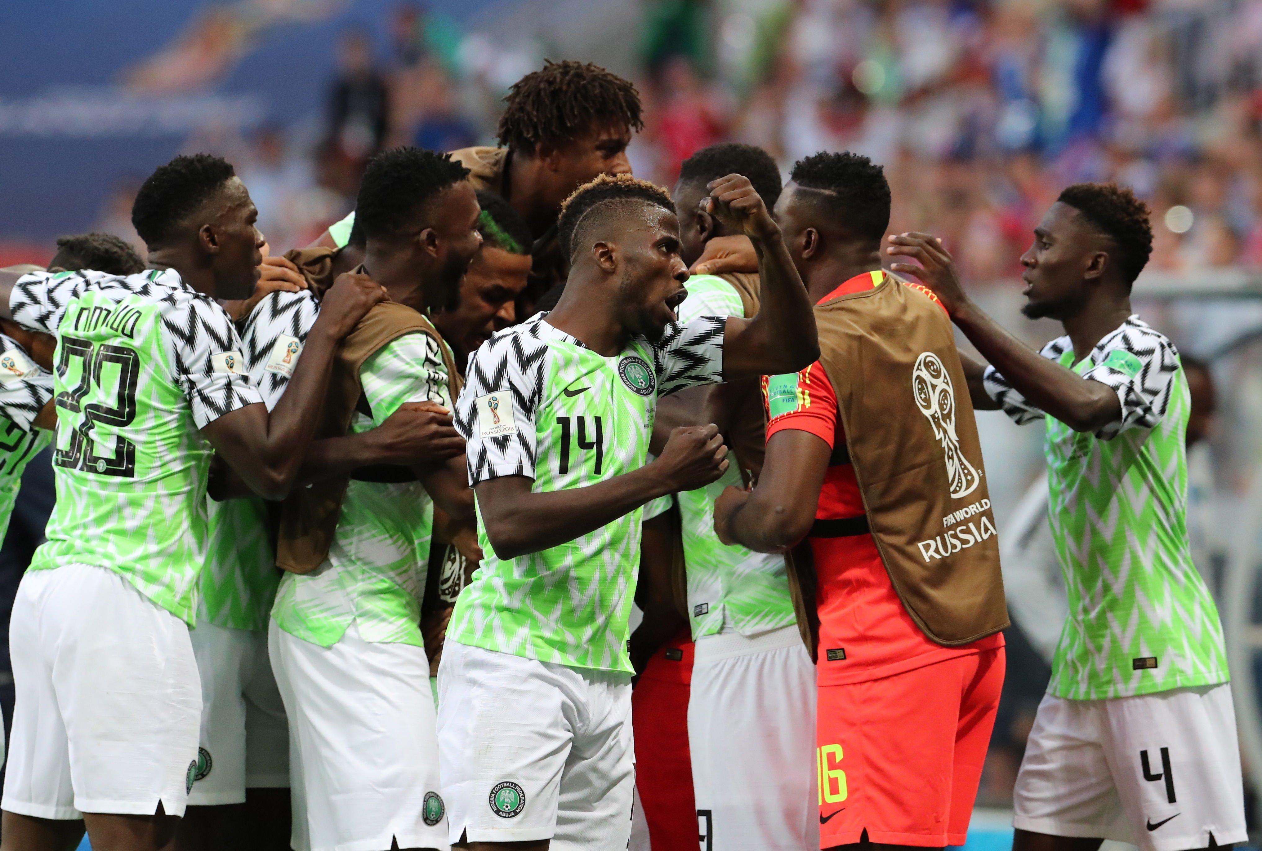 Pinya Nigeria Islandia Mundial Russia 2018 EFE