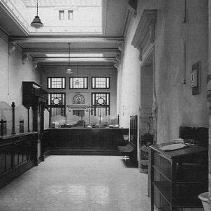 Banc de Catalunya (1928). Oficina de Reus. Font Arxiu Historic de l'Agrupació Fotogràfica de Reus