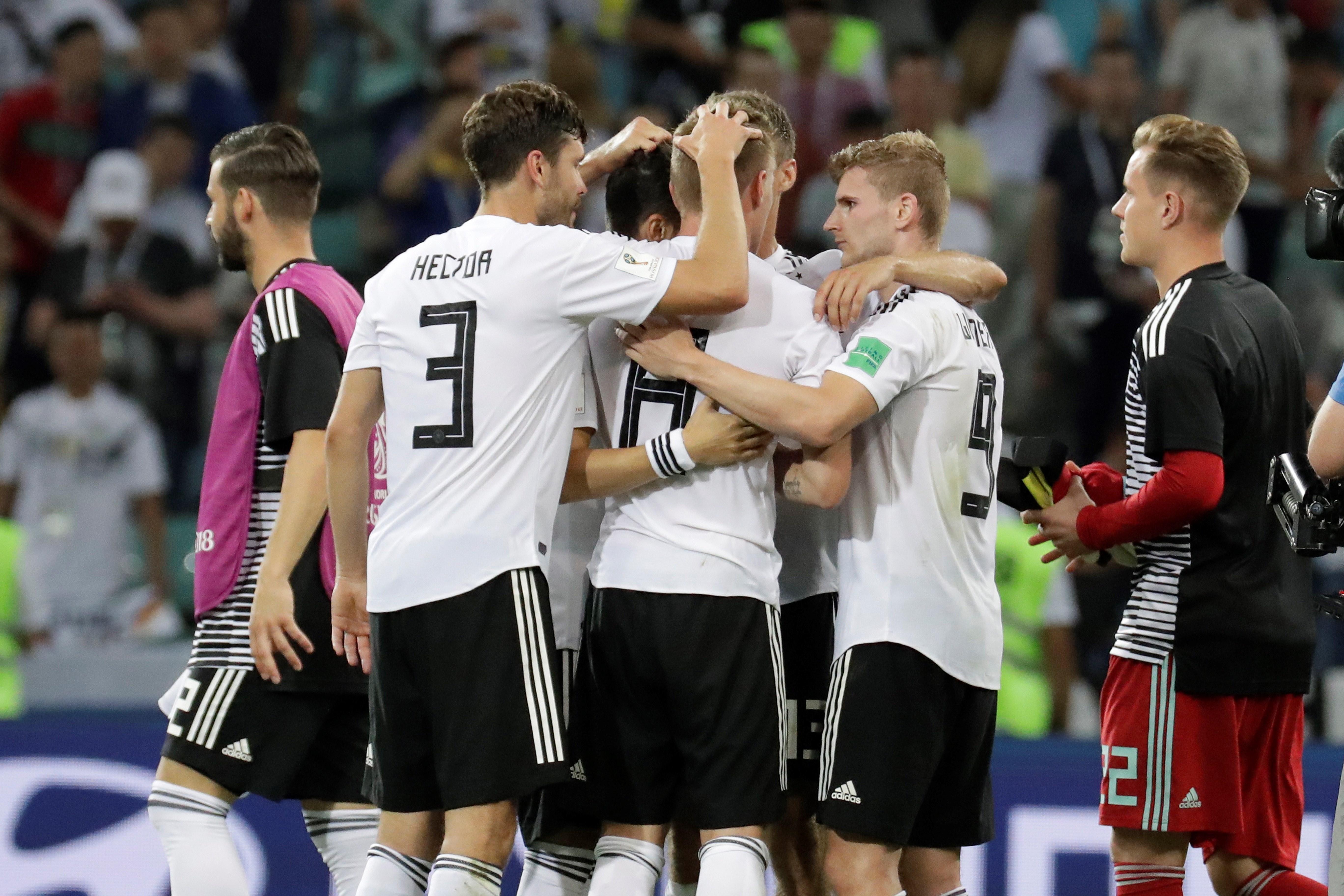 Alemanya Mundial Rússia 2018 Efe