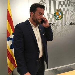 ÀLEX PASTOR alcalde Badalona Gisela Rodríguez