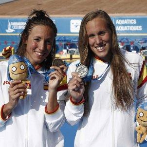 Jessica Vall Marina Garcia natació medalles Jocs Mediterranis Tarragona 2018 Efe