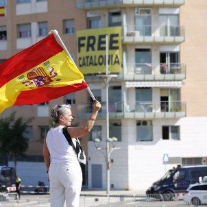 Bandera espanyola jocs del mediterrani free catalonia - Sergi Alcàzar