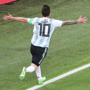Leo Messi Argentina Nigeria Mundial Russia   EFE