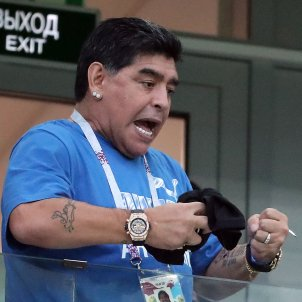 Diego Maradona Mundial Russia   EFE