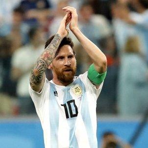 Leo Messi Argentina Mundial Rússia 2018 Efe