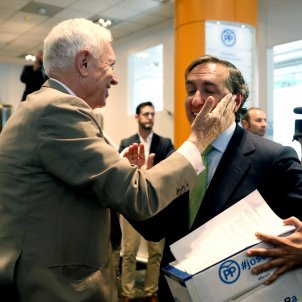 Margallo i Hernando efe