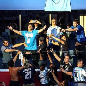 Maradona grada Argentina Nigeria Mundial Rússia   EFE
