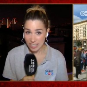 Telecinco reportera Mundial Rússia   Captura
