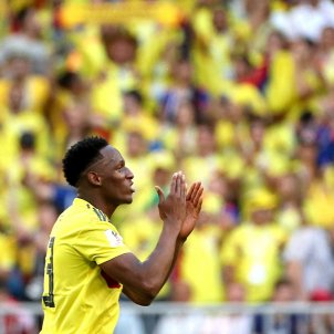 Yerry Mina Colombia Mundial Russia   EFE