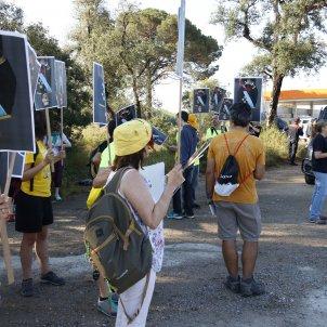 Caldes de Malavella Manifestació rei - ACN