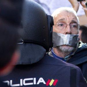 Manifestació contra llei mordassa Madrid 20141220 (Carlos Delgado)