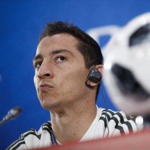 Andres Guardado Mexic roda premsa Mundial Rússia   EFE