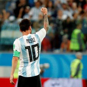 Leo Messi Nigèria Mundial Rússia   EFE