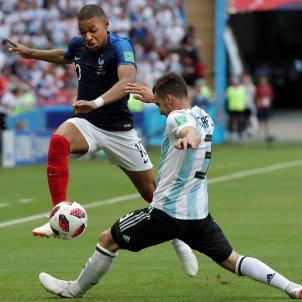 Mbappe França Argentina Mundial   EFE