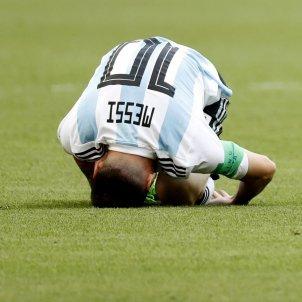 Leo Messi Argentina França Mundial Rúsia   EFE