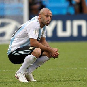 Mascherano Argentina França Mundial Russia EFE