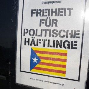 cartell presos alemany @KommunikaCat