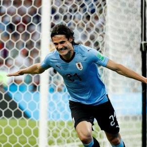 Cavani Uruguai Portugal Mundial EFE