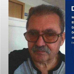 Juan pradal home desaparegut Mossos
