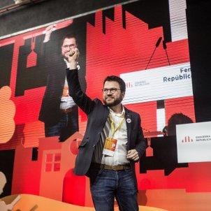 Pere Aragonès Conferència ERC Carles Palacio