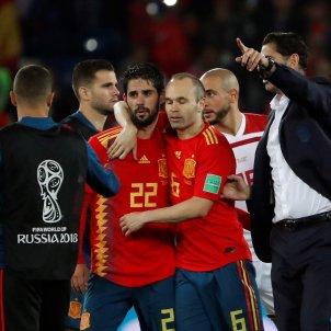 Andrés Iniesta Espanya Marroc Mundial Rússia   EFE
